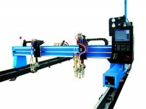 gantry cnc plasma cutting machine and flame cutting machine for steel plate