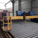 gantry type cnc metal cutting machines plasma and flame cutting machine