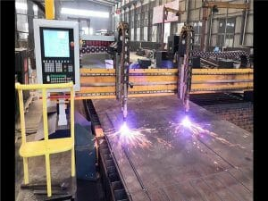 cnc gantry flame &plasma cutting machine