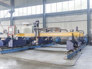 cnc gantry cutter machine for metal sheet cutting