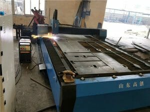 big 100A computerized plasma cutter , high precision cnc plasma cutting machine