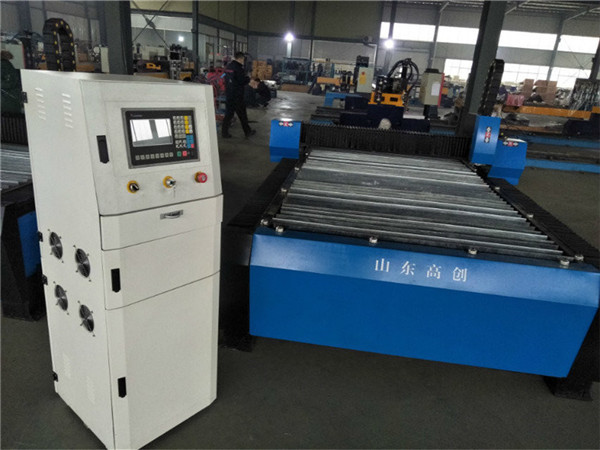 china cnc Plasma cutting Machine with hyper 125a for thick metal sheet