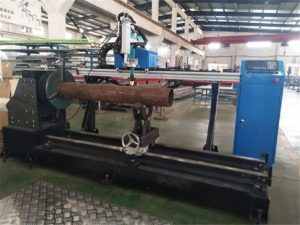 cnc metal pipe plate cutting machine new condition